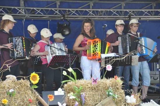 Dorothée Lhoir et l'école d'accordéon