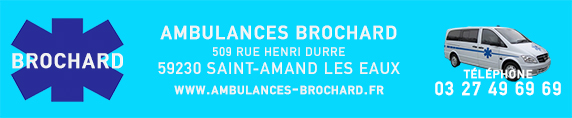 Ambulance brochard bandeau site