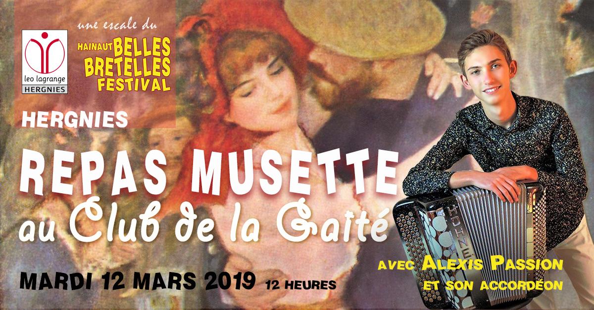 Repas musette 12-03-2019