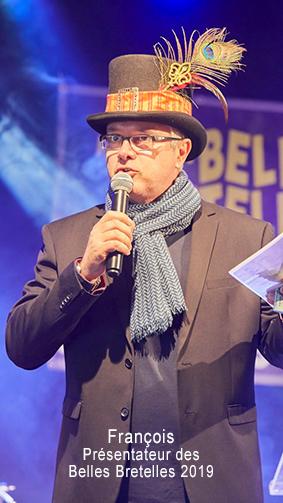 François présentateur 2019